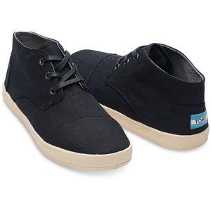 6b4e25ba5d ... TOMS Black Nylon Paseo Mid Boots Size 10 ...